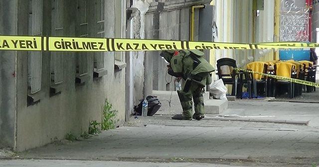 Kars'ta şüpheli çanta paniği
