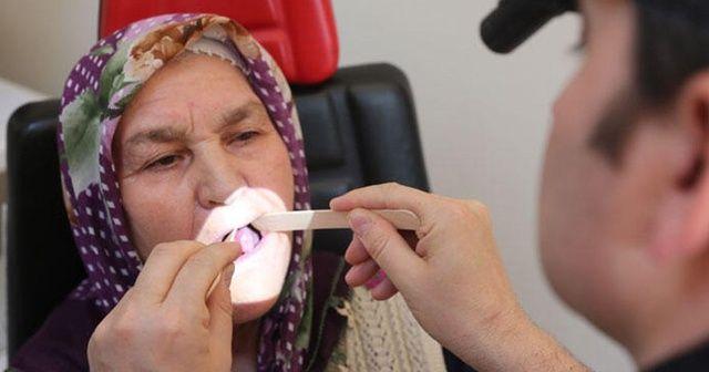 Kırık dişi yüzünden dil kanseri oldu