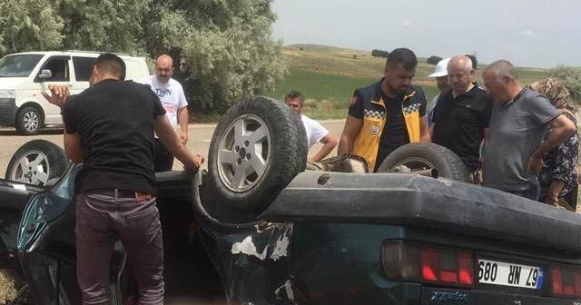 Kırşehir'de kaza:1 ağır yaralı