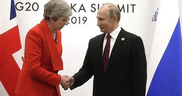 Kremlin'den G-20'deki Putin-May görüşmesine ilişkin açıklama