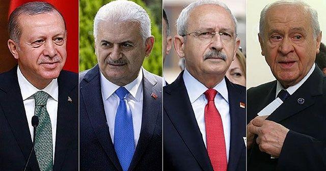 Liderler bayramda İstanbul mesaisinde! Programları belli oldu