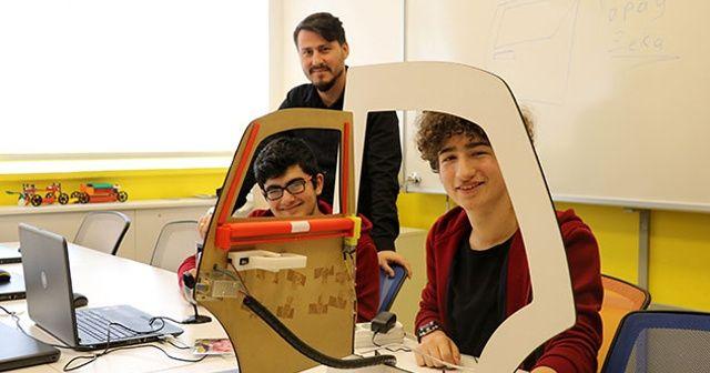 Liseliler, yerli otomobil için yapay zekalı güvenlik sistemi geliştirdi