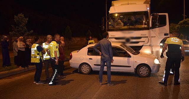 Malatya'da trafik kazası: 1 yaralı