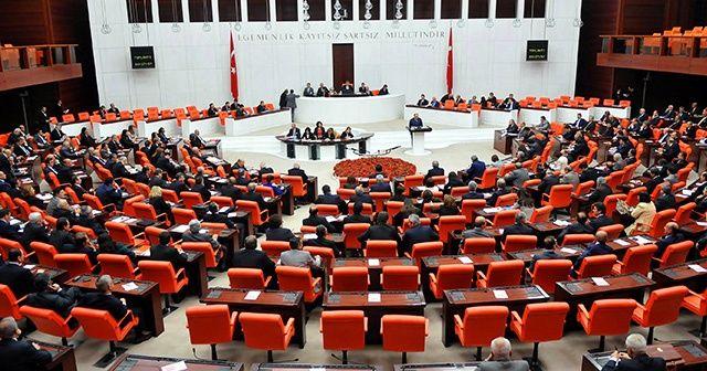 Meclis bu hafta iki kanun teklifi için mesai yapacak