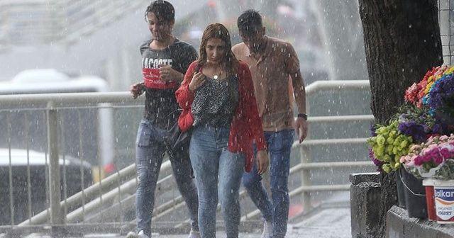 Meteoroloji'den Marmara Bölgesi için kritik uyarı