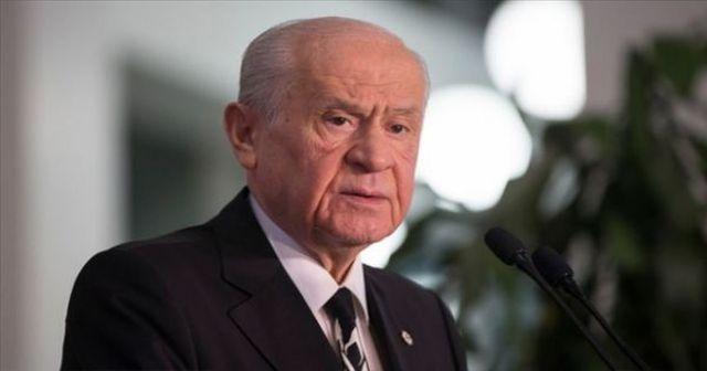 MHP Genel Başkanı Devlet Bahçeli'den önemli açıklamalar