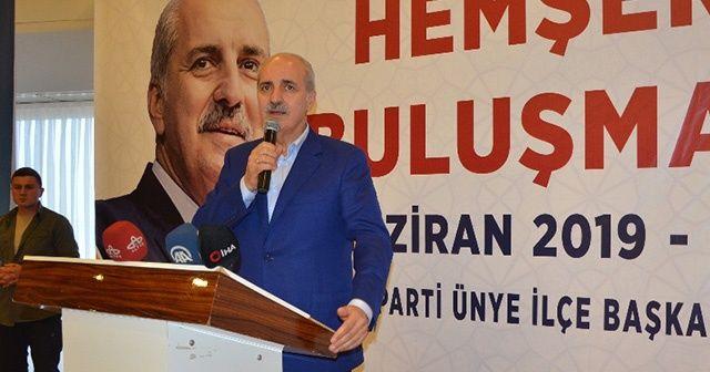 """Numan Kurtulmuş: """"İstanbul seçimi keyfe gelerek yenilenmedi"""""""