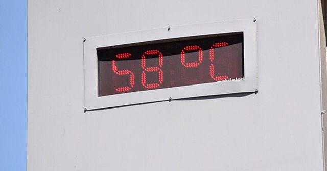 Şanlıurfa'da yılın sıcaklık rekoru kırıldı