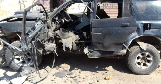 Suriye'de yol kenarına döşenen bomba patladı