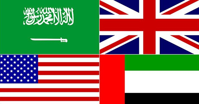 Suudi Arabistan, BAE, ABD ve İngiltere'den ortak İran açıklaması