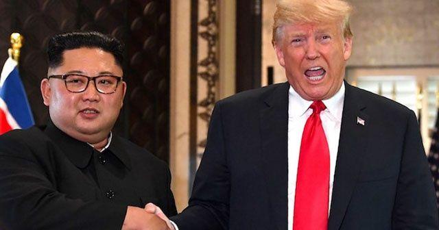 """Trump: """"Kim Jong'dan güzel bir mektup aldım"""""""