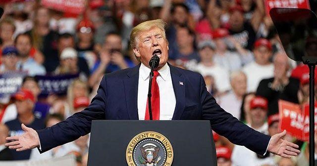 Trump, yeni dönem başkan adaylığı için seçim kampanyasına başladı