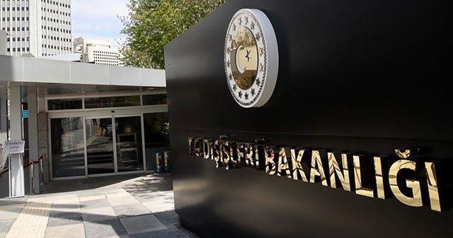 Türkiye'den Burkina Faso'daki terör saldırısına kınama