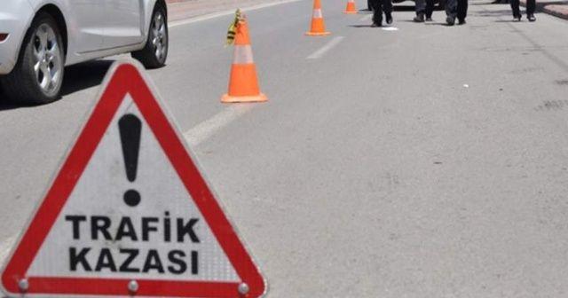 Üsküdar'da trafik kazası: 1 polis yaralı