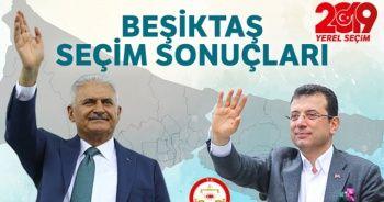 23 Haziran Beşiktaş seçim sonuçları!  Beşiktaş'ta Binali Yıldırım mı Ekrem İmamoğlu mu önde?