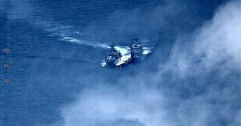 ABD ve Rus savaş gemileri Güney Çin Denizi'nde karşı karşıya