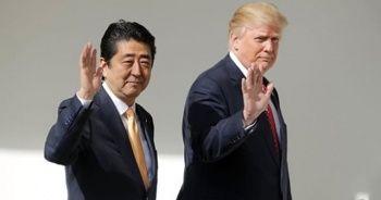 Abe ve Trump İran ziyareti öncesi telefonda görüştü