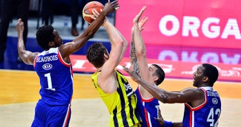 Anadolu Efes, Fenerbahçe karşısında bu sezon 6. kez kazandı