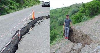 Ardahan'da 50 haneli köy heyelan riski nedeniyle boşaltıldı