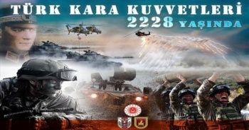 Bakan Akar'dan Kara Kuvvetlerinin 2228. yılına özel mesaj