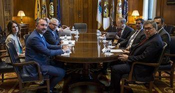 Bakan Gül, ABD'de FETÖ elebaşı Gülen'in iade sürecini görüştü