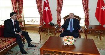 Cumhurbaşkanı Erdoğan, Barzani'yi kabul etti