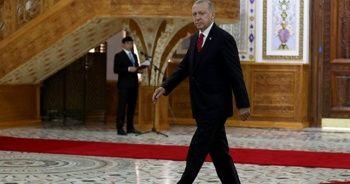 Cumhurbaşkanı Erdoğan Tacikistan'dan ayrıldı