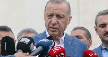 Cumhurbaşkanı Erdoğan: YSK değil HSK karar verir