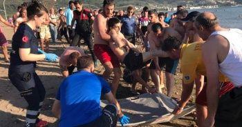 Denizde can pazarı! Suriyeli gençler boğulma tehlikesi geçirdi