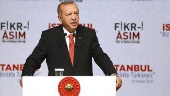 Erdoğan: Bu milletin en büyük gücü birliği ve kadim kardeşliğidir