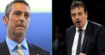 Ergin Ataman'dan çarpıcı sözler: Fenerbahçe Başkanı azmettiricidir