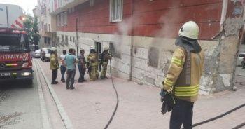 Esenyurt'ta çocukların ateşle oyunu yangın çıkardı