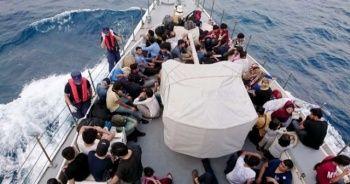 Fethiye'de 114 kaçak göçmen yakalandı