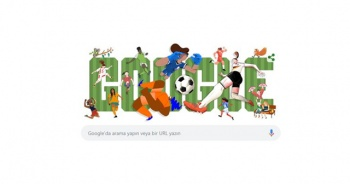 Google, 2019 FIFA Kadınlar Dünya Kupası'nı doodle yaptı
