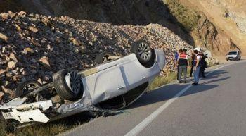 Gümüşhane'de 2 ayrı trafik kazası
