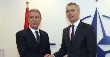 Hulusi Akar NATO Genel Sekreteri ile görüştü