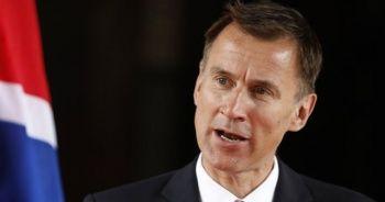 """İngiltere Dışişleri Bakanı Hunt: """"Umman Denizi'ndeki saldırıların arkasında neredeyse kesinlikle İran var"""""""