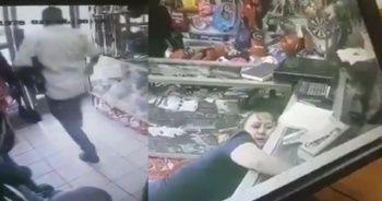 Kadın çalışanı beyzbol sopasıyla bayıltıp dükkanı soydu