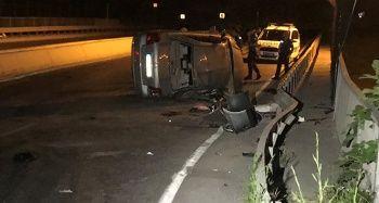 Küçükçekmece'de trafik kazası; 1 ölü 5 yaralı
