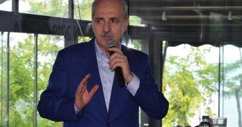 """Kurtulmuş: """"AK Parti'ye karşı kızgınlığın bedeli, CHP'nin adayını o koltuğa oturtmak değildir"""""""