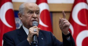 MHP Genel Başkanı Bahçeli'den ABD'ye S-400 tepkisi