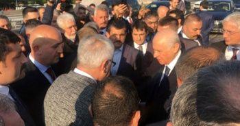 MHP Lideri Bahçeli seçim çalışmaları için İstanbul'da
