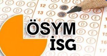 ÖSYM giriş İSG sonuçları sorgulama | İSG sınav sonuçları puan hesaplama 2019