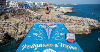 Red Bull Cliff Diving heyecanı İtalya'ya taşınıyor
