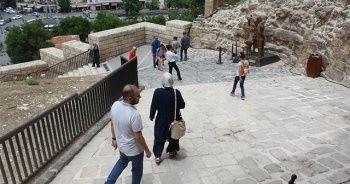 Tarihi Gaziantep Kalesi'ne yoğun ilgi