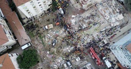 21 kişinin öldüğü Yeşilyurt Apartmanı davası başladı