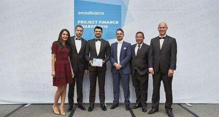 Akfen Yenilenebilir Enerji'nin güneş ve rüzgâr portföyüne EMEA Finance'dan iki büyük ödül