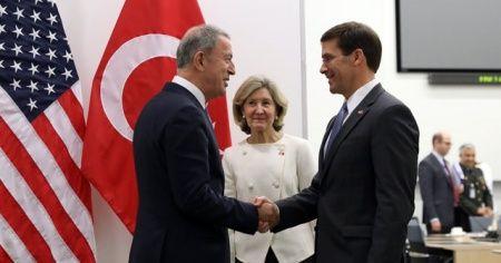 Bakan Akar ABD Savunma Bakanı Vekili Esper ile görüştü