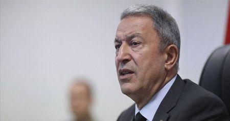 Bakan Akar'dan MHP lideri Bahçeli'ye ziyaret