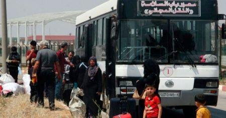Bayramı ülkesinde geçiren Suriyelilerden 5 bini Türkiye'ye döndü